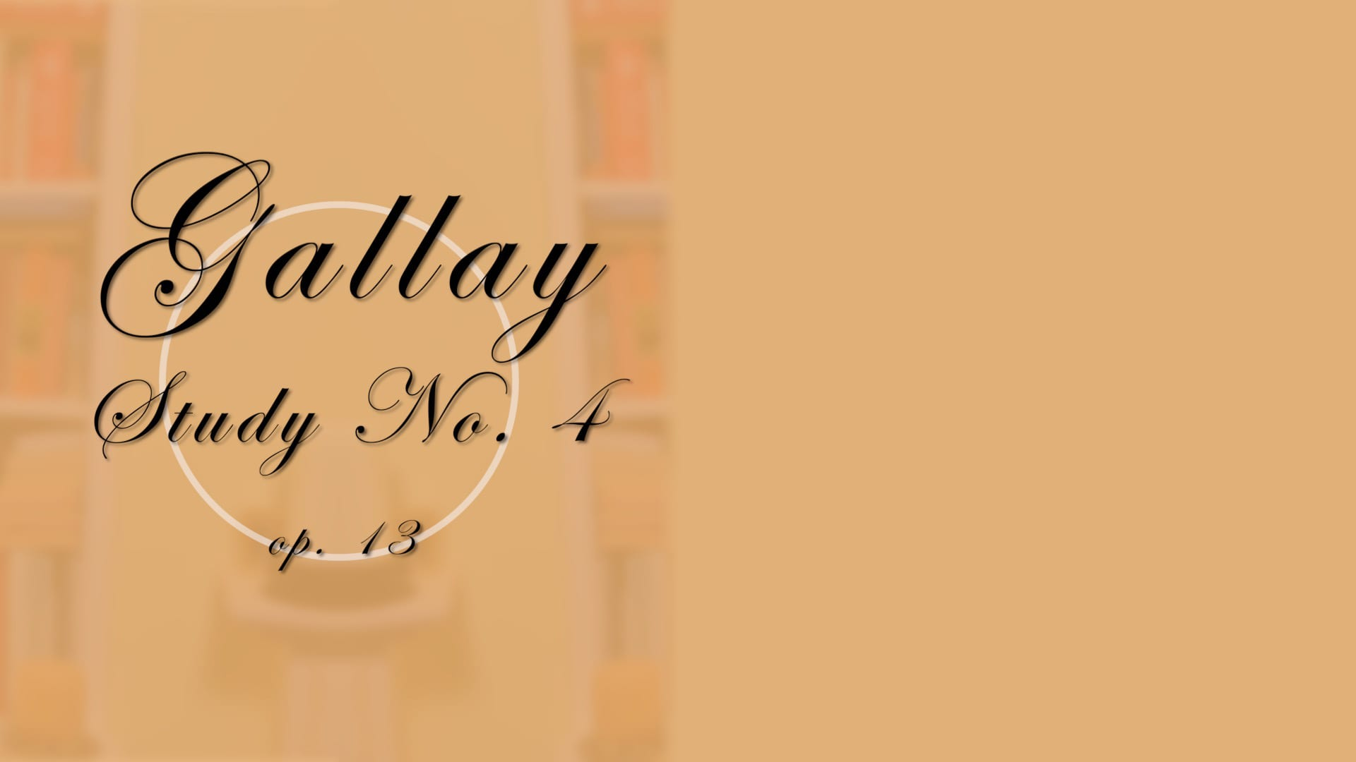 Gallay Study No. 4 trailer
