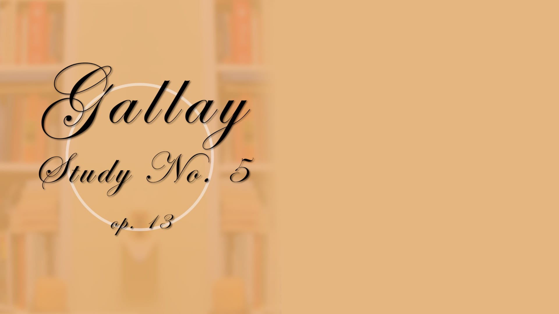 Gallay Study No. 5 Trailer